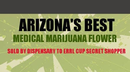 Top Arizona Dispensary Flowers from Secret Shopped Errl Cup Results